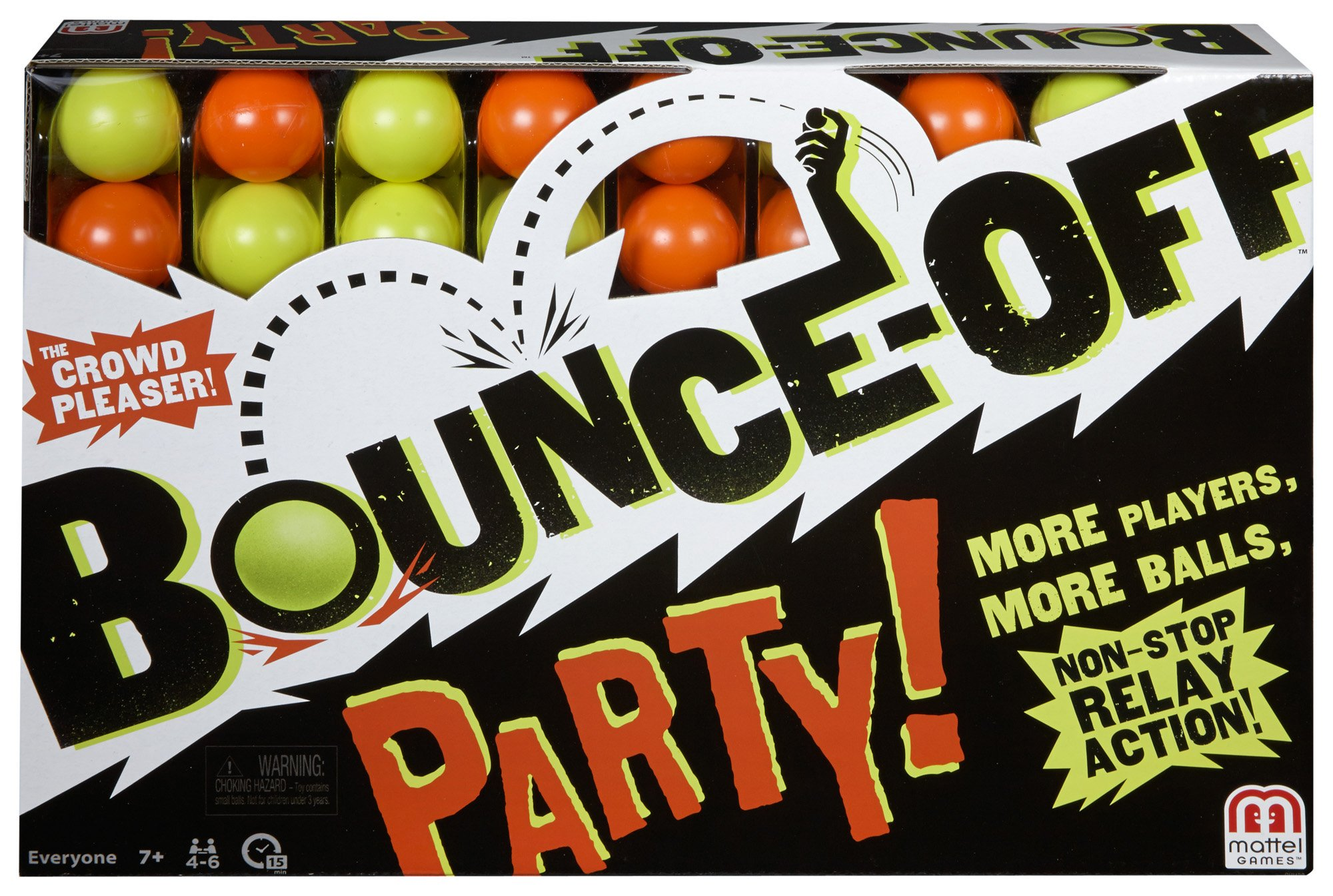 Mattel Games Bounce-Off Party