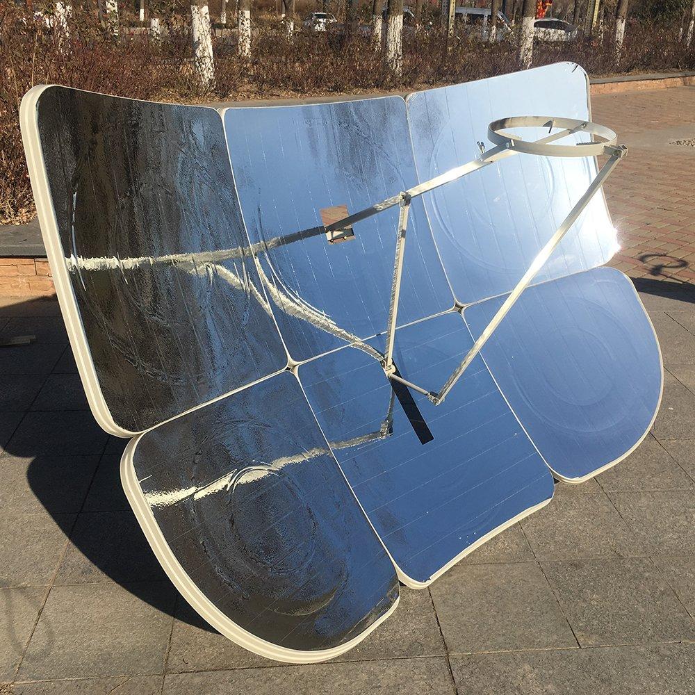 HUKOER Cocina Solar 6Pcs 130X190CM Cocina Rectangular Rectangular Parcial 2300W: Amazon.es: Jardín