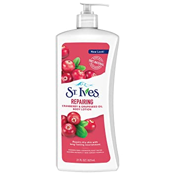 39dfd9a5 Amazon.com: St. Ives Repairing Body Lotion, Cranberry and Grapeseed ...
