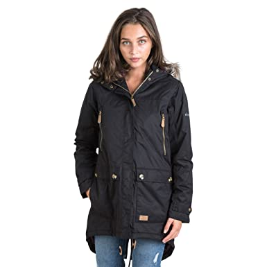 Trespass Clea - Female JKT TP50 - Chaqueta, Mujer, Negro - (Black)