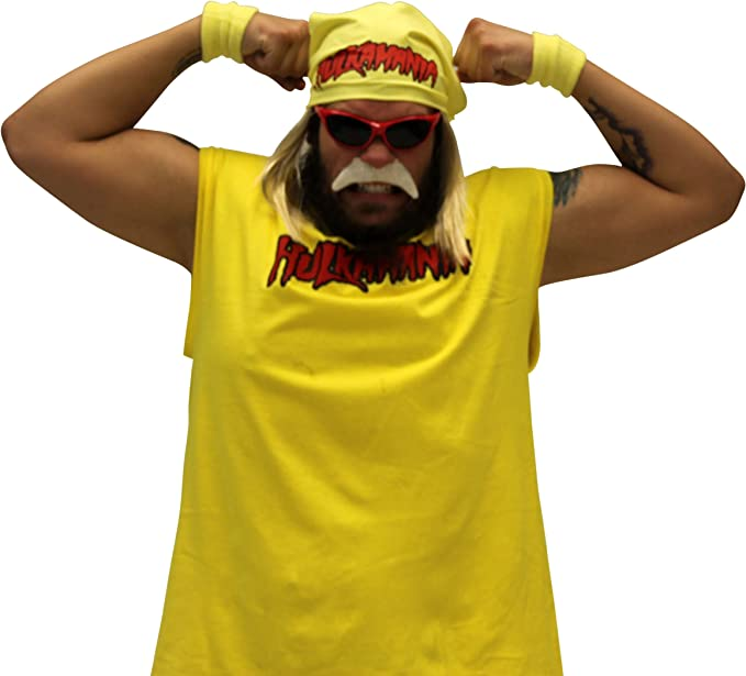 Costume Agent - Juego Completo de Disfraz de Hulk Hogan hulkmanía ...