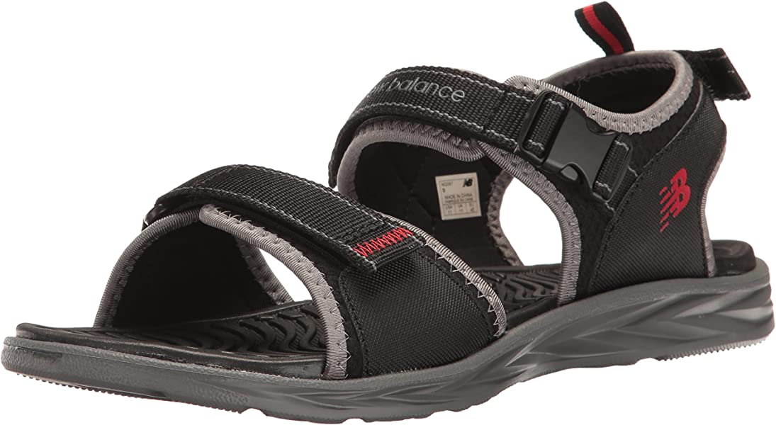 30fc443d787a New Balance Men s Response Sandal Black Grey 7 ...