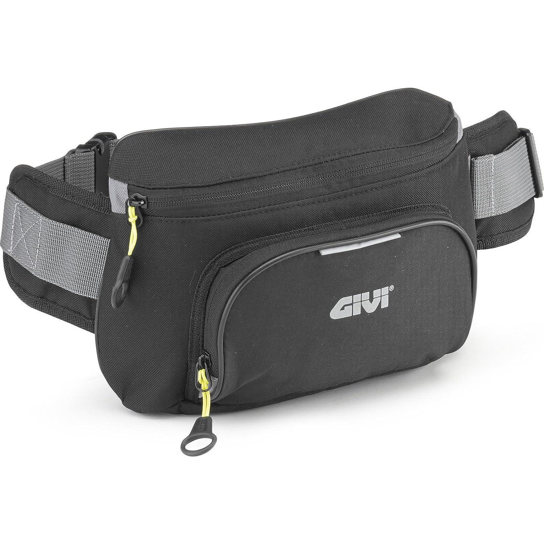 Carga M/áxima 1 Kg GIVI EA108B Easy Bag Ri/ñonera Color Negro Volumen 2 Litros
