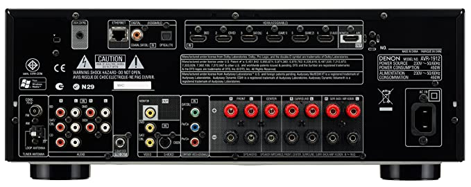 denon avr1912bk denon avr1912 av receiver amazon co uk electronics rh amazon co uk denon avr-1912 user manual pdf denon avr-1912 user guide