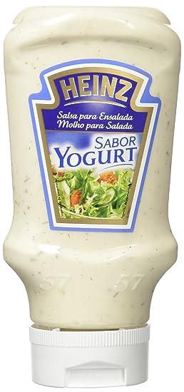 Heinz, Salsa de Aderezo Yogurt, 405 gr, Pack de 10