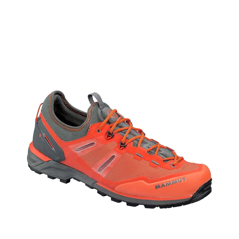 Alnasca Knit Low Men; Dark Orange-Graphite; US 12