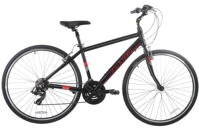 Framed Pro Elite 2.0 CT Men's Bike Black/Red/Silver/White 19in by Framed B00ECDWUK4
