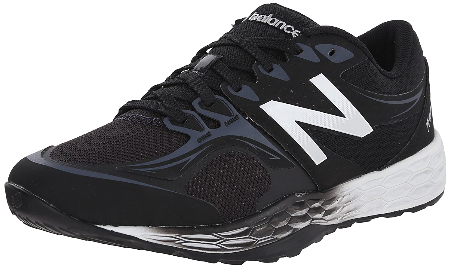 New Balance Men's MX80V2 Fresh Foam Training Shoe B00R5M8VKW 11.5 D(M) US|Black/Silver