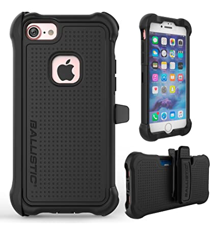 sports shoes ee9eb ae868 Amazon.com: iPhone 7 Case, Ballistic [Tough Jacket Maxx Series ...