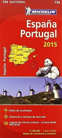 Mapa. España/Portugal 11734 (15): Vv.Aa.: Amazon.es: Belleza