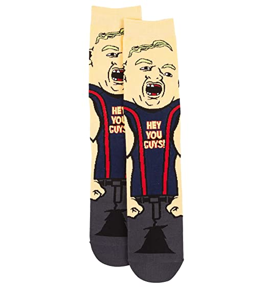 The Goonies Sloth Hey You Guys Socks At Amazon Men S Clothing Store