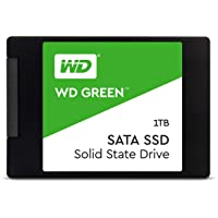 """Western Digital WD Green 1TB Internal PC SSD - SATA III 6 GB/s, 2.5""""/7mm - WDS100T2G0A"""
