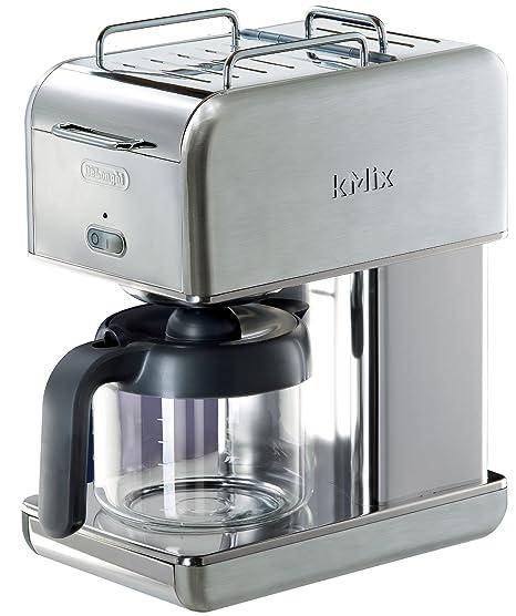 Amazon.com: DeLonghi Kmix – Cafetera de goteo, Acero ...