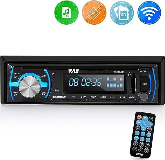 Stereo Radio Boat Bluetooth Marine Receiver AM FM System Wireless USB SD MP3 LCD