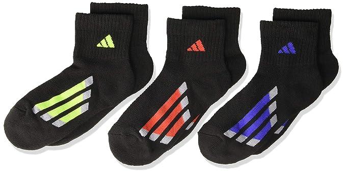 fc83199f Amazon.com : adidas Kids' - Boys/Girls Cushioned Quarter Socks (6 ...