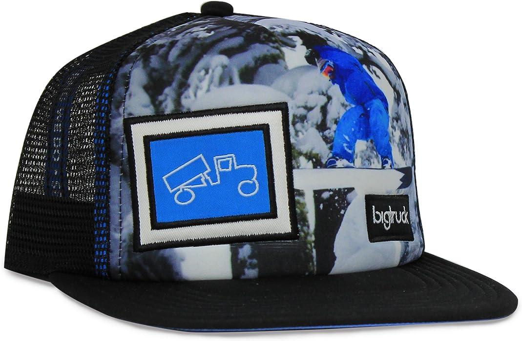 7bbc3edb76af5 bigtruck Boys Original Kids Photography Series Snapback Hat Black at ...