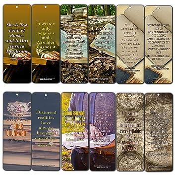 Creanoso Avid Lot De 60 Marque Pages Avec Citations