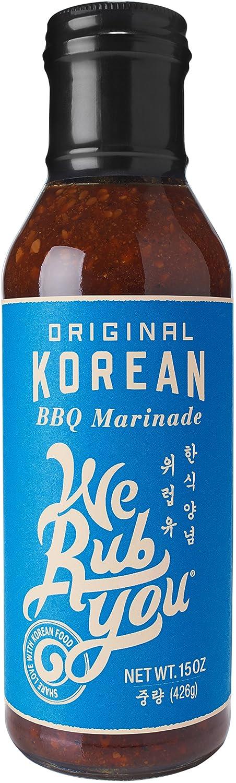 We Rub You Original Korean Barbecue Hot Bulgogi Sauce 15 OZ (Pack - 1)