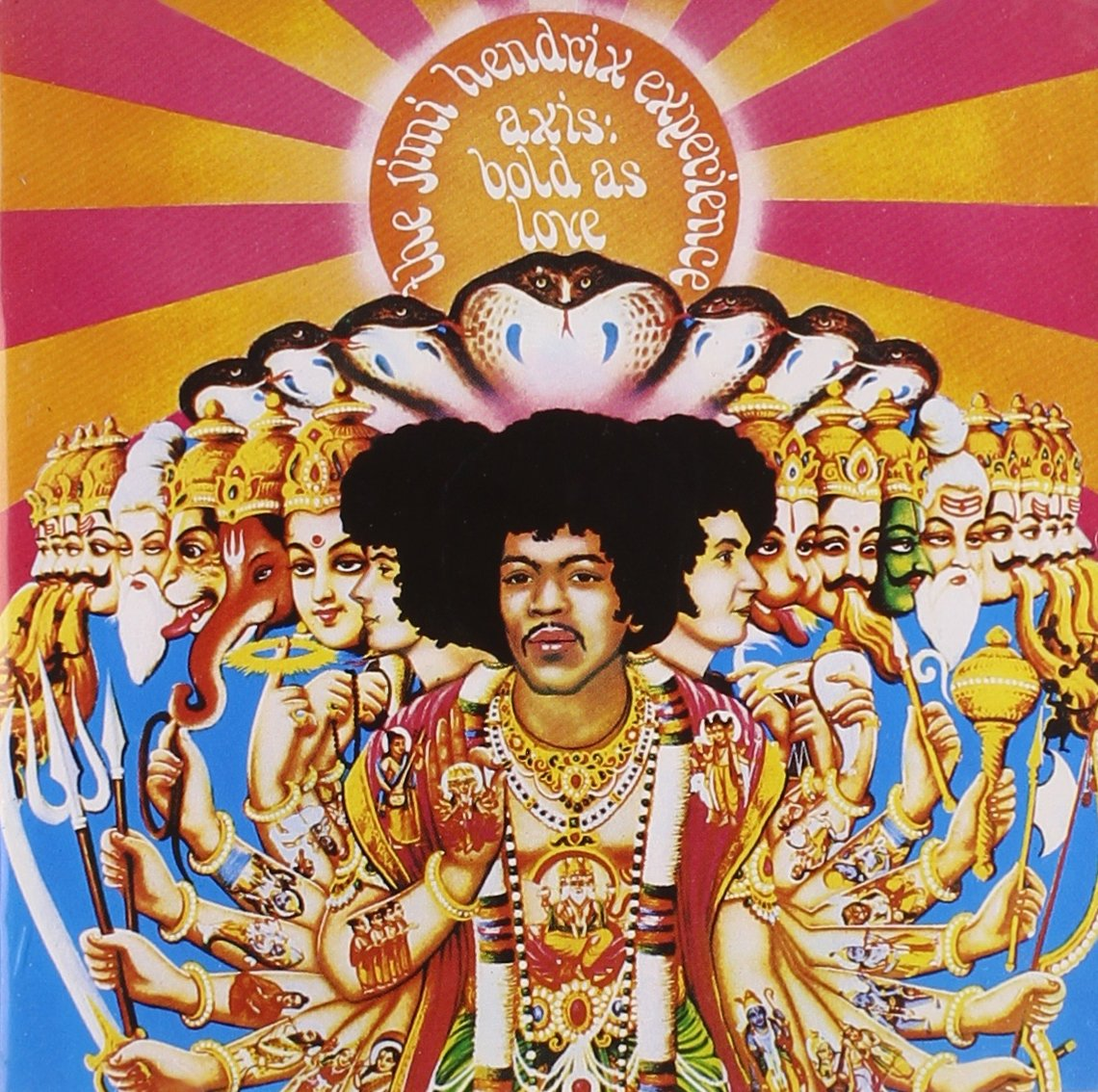 Jimi Hendrix Experience - Axis Bold As Love.