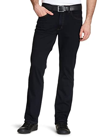 6ba5cc07 Lee Men's Brooklyn Straight One Wash Jeans: Amazon.co.uk: Clothing