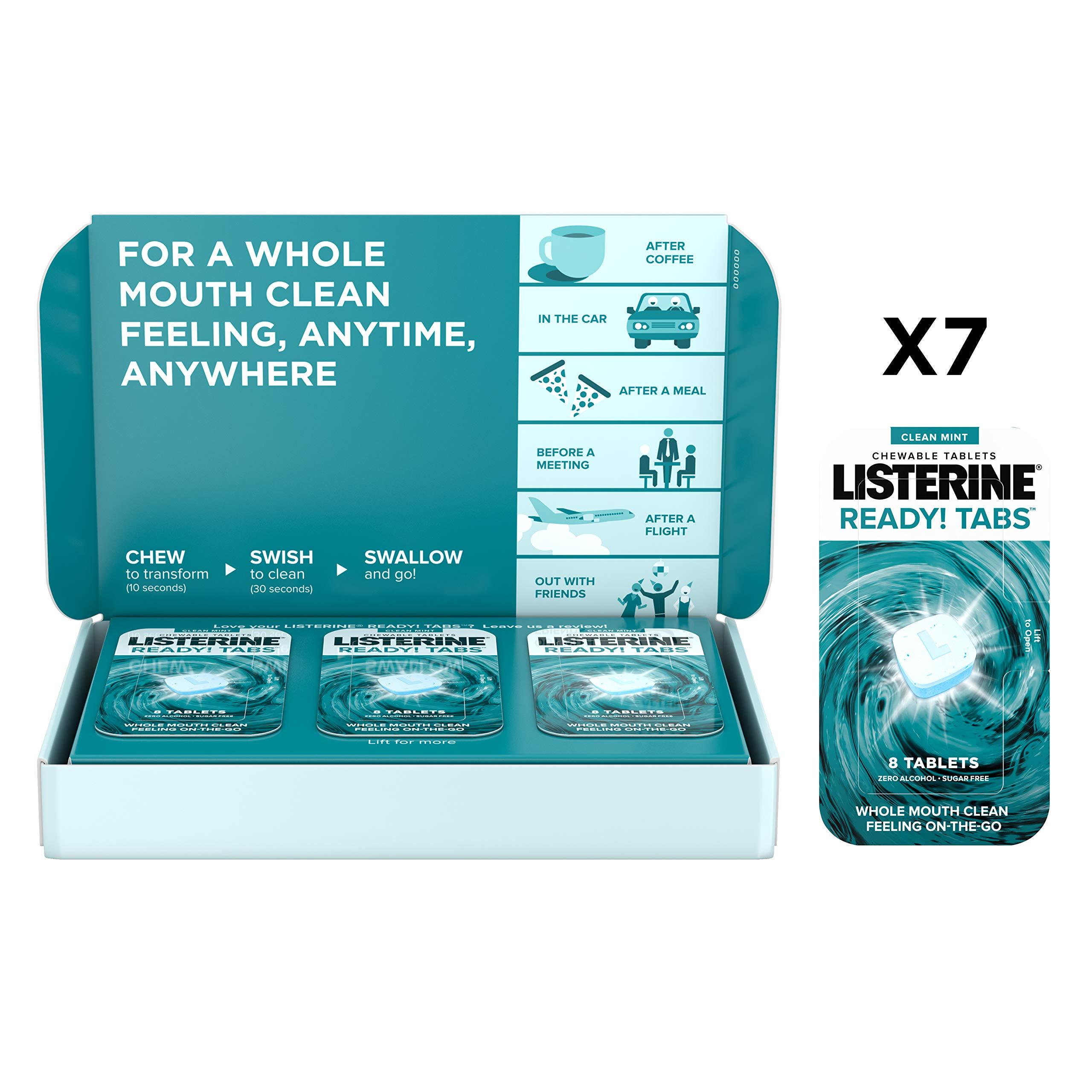 Amazon Com Listerine Cool Mint Pocketpaks Breath Strips