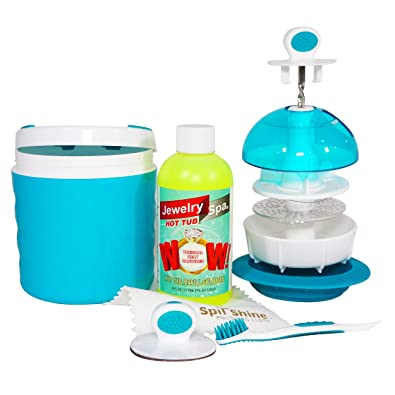 Amazon.com: Sistema de limpieza de joyería para spa ...