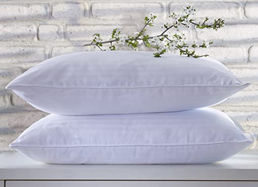 Smart Home Bedding Super Plush Pillow Dust Mite Resistant Down Alternative Quee