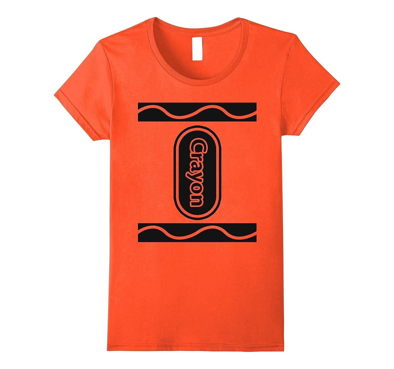 Orange Crayon Box Group Costume Halloween T-Shirt