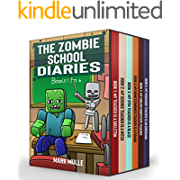 The Zombie School Diaries Books 1 to 6: Unofficial Diary of a Minecraft Zombie - Adventure Fan Fiction Minecraft Book…