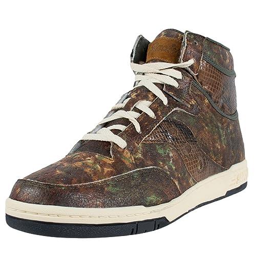 085e2dde7652 SAUCONY X PACKER SHOES HANGTIME HI WOODLAND SNAKE GREEN CAMO 70127 2   Amazon.ca  Shoes   Handbags