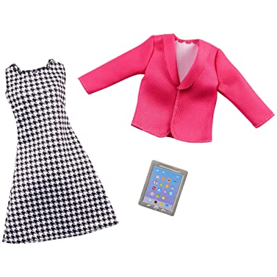Barbie Clothes -- Career Outfit for Barbie Doll, Business Executive with Tablet, GHX40,Multi: Toys & Games