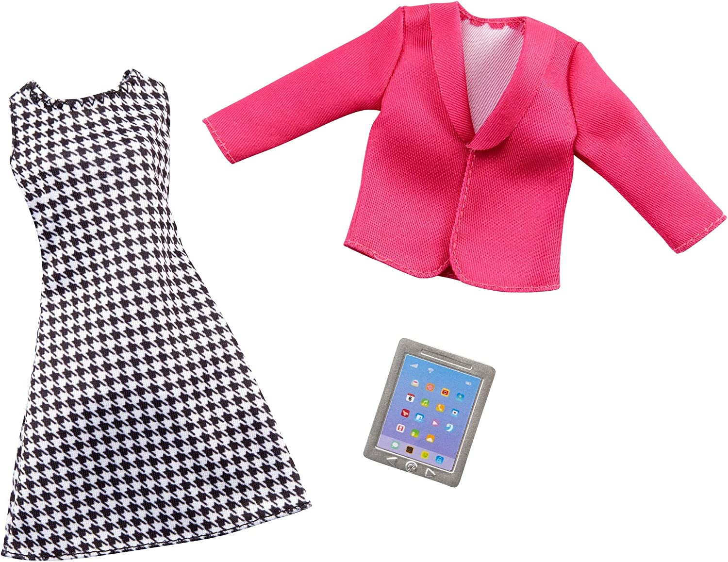 Barbie Clothes - Career Outfit for Barbie Doll, Business Executive Look with Tablet, Gift for 3 to 8 Year Olds