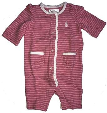 0639bad4774e Amazon.com  Ralph Lauren Polo Baby Girls Jacquard Coverall Romper ...