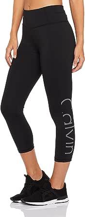 Calvin Klein Women's Crop Tight with Reflective Logo