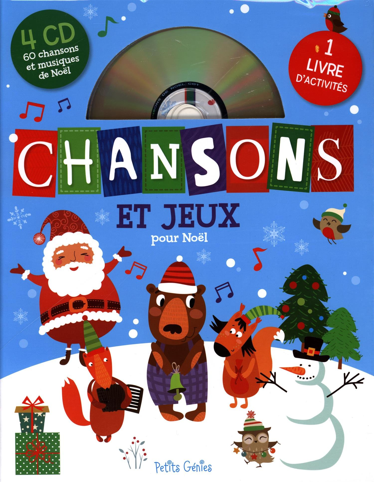 Jeux Pour Noel.Chansons Et Jeux Pour Noël Claire Chabot 9781988142036