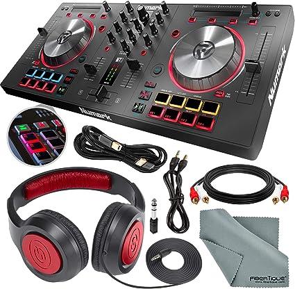 Amazon.com: Numark Mixtrack Pro 3 - Controlador USB DJ con ...