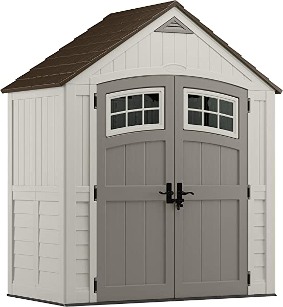 6x4 plastic shed
