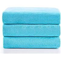 "JML Microfiber Bath Towels, Bath Towel 3 Pack(27"" x 55""), Oversized, Soft, Super Absortbent and Fast Drying…"