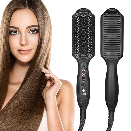 Como usar cepillo alisador en pelo corto