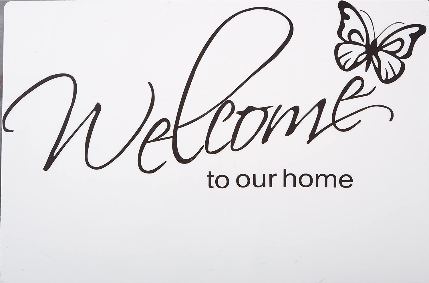 3 different styles BUTTERFLY Vinyl Wall Lettering Art Decor Decal Sign Craft