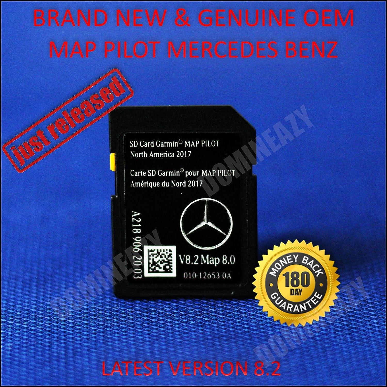 2018 Mercedes-Benz Garmin Map Pilot Navegación GPS SD Tarjeta v8.2 a2189062003 C300 M2 Gla CLS: Amazon.es: Electrónica