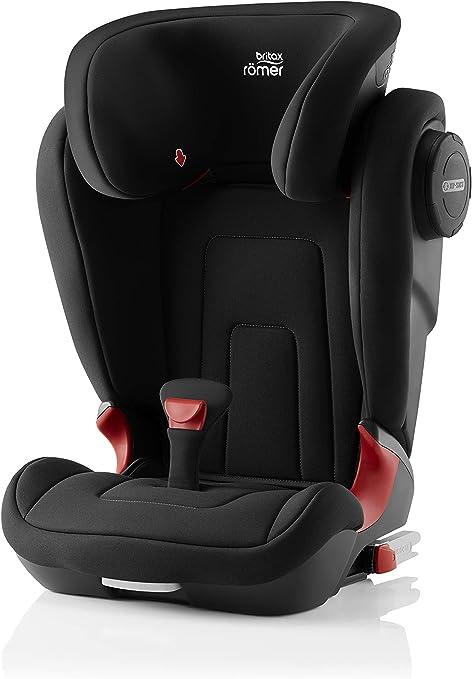 Oferta amazon: Britax Römer Silla de coche 3,5 años - 12 años, 15 - 36 kg, KIDFIX S, ISOFIX, Grupo 2/3, Cosmos Black