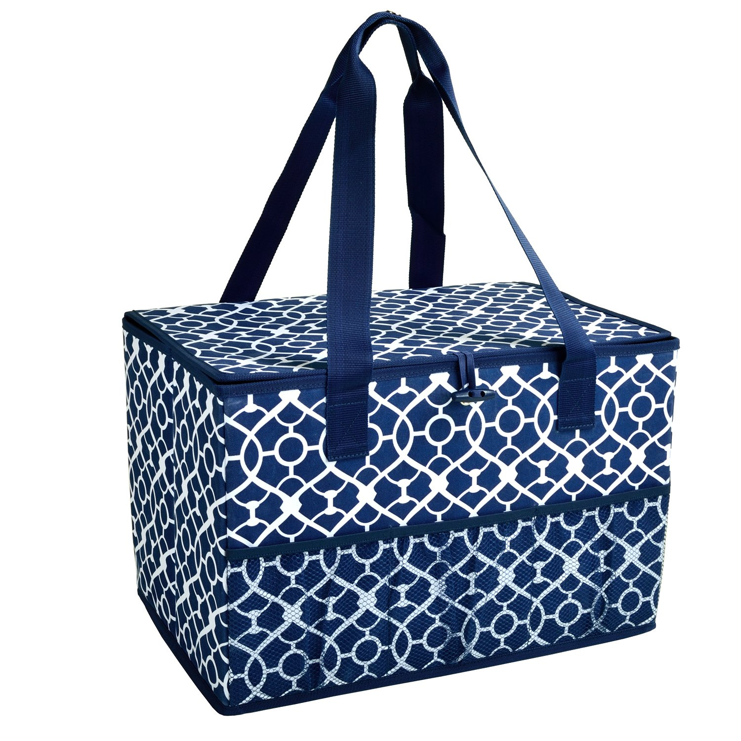 Picnic at Ascot Collapsible Storage Container/Organizer for Home and Trunk - Designed & Quality Approved in the USA by Picnic at Ascot