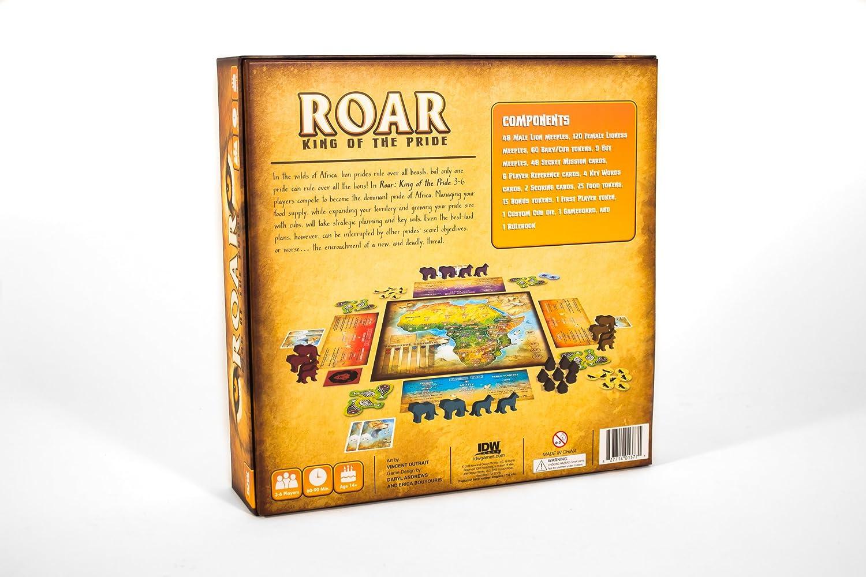 9359b024c Amazon.com: Roar: King of The Pride Strategic Board Game: Toys & Games