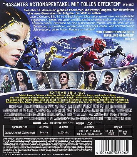 Power Rangers 4K Ultra-HD + Blu-ray Italia Blu-ray: Amazon ...