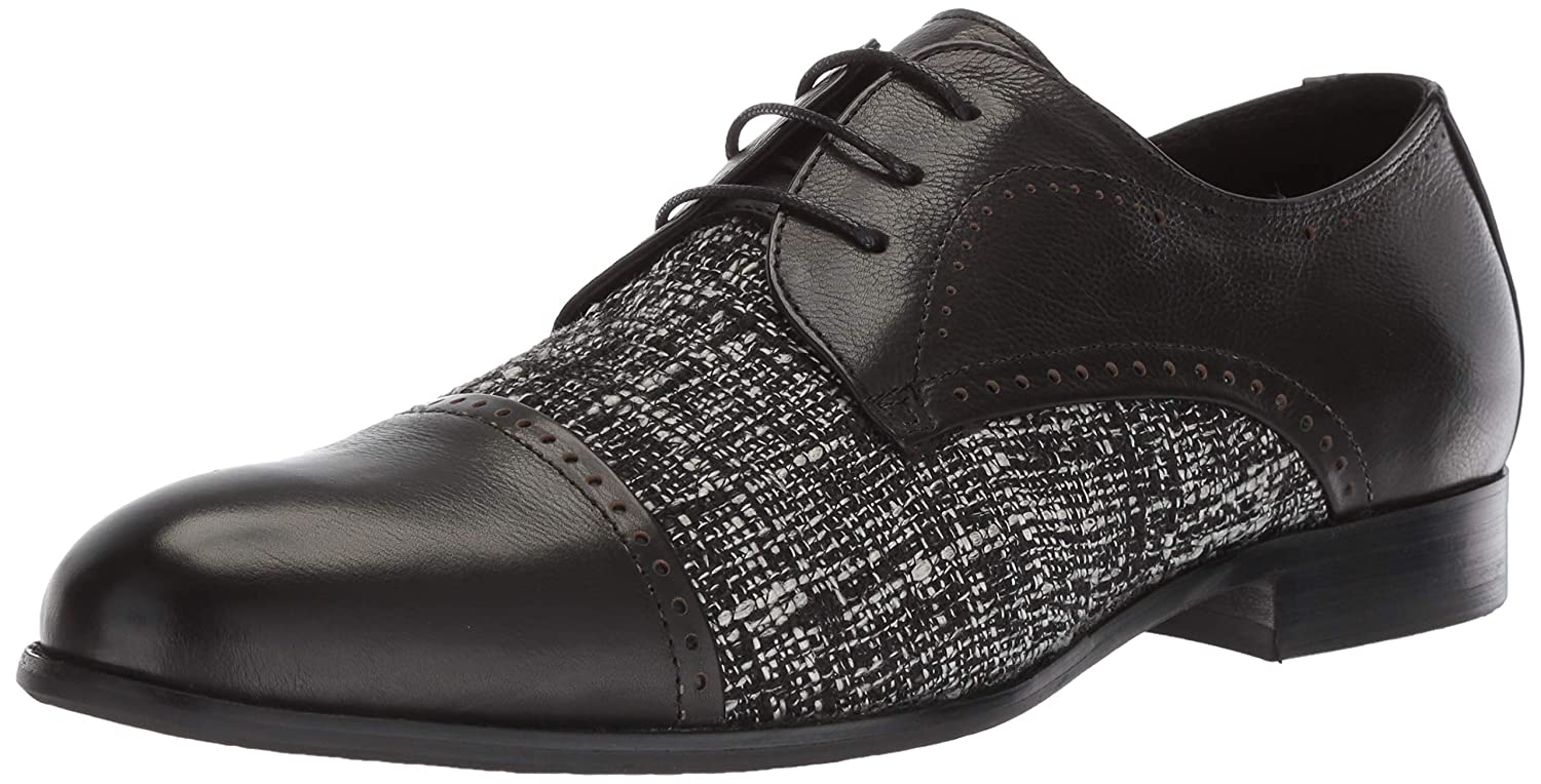 Black Zanzara Men's Page Oxford