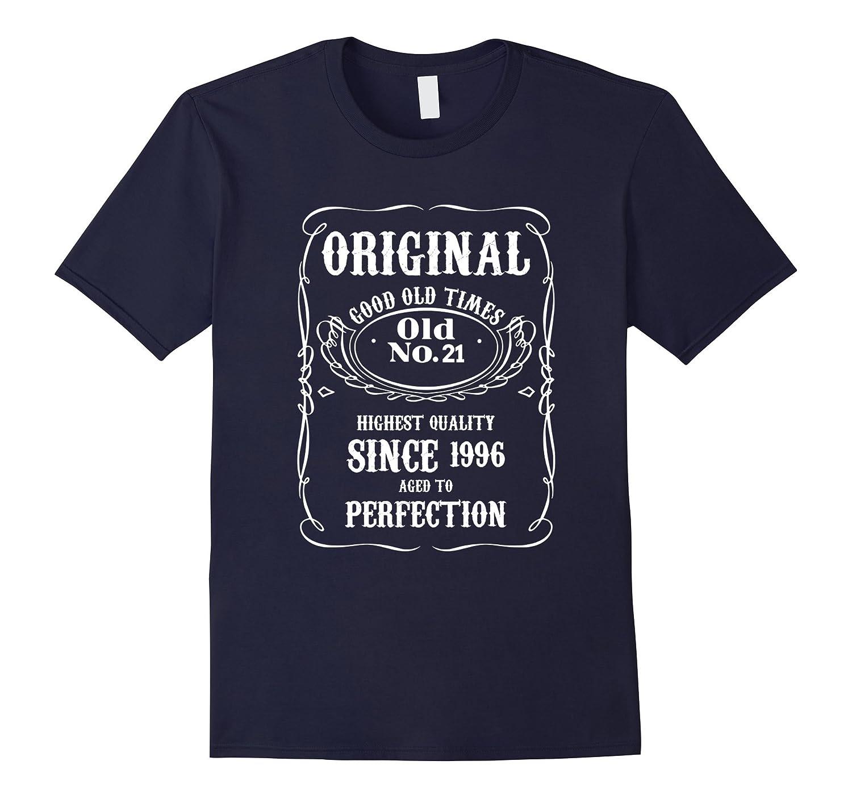 21st Birthday Vintage Made in 1996 Gift ideas Man T shirt-ANZ