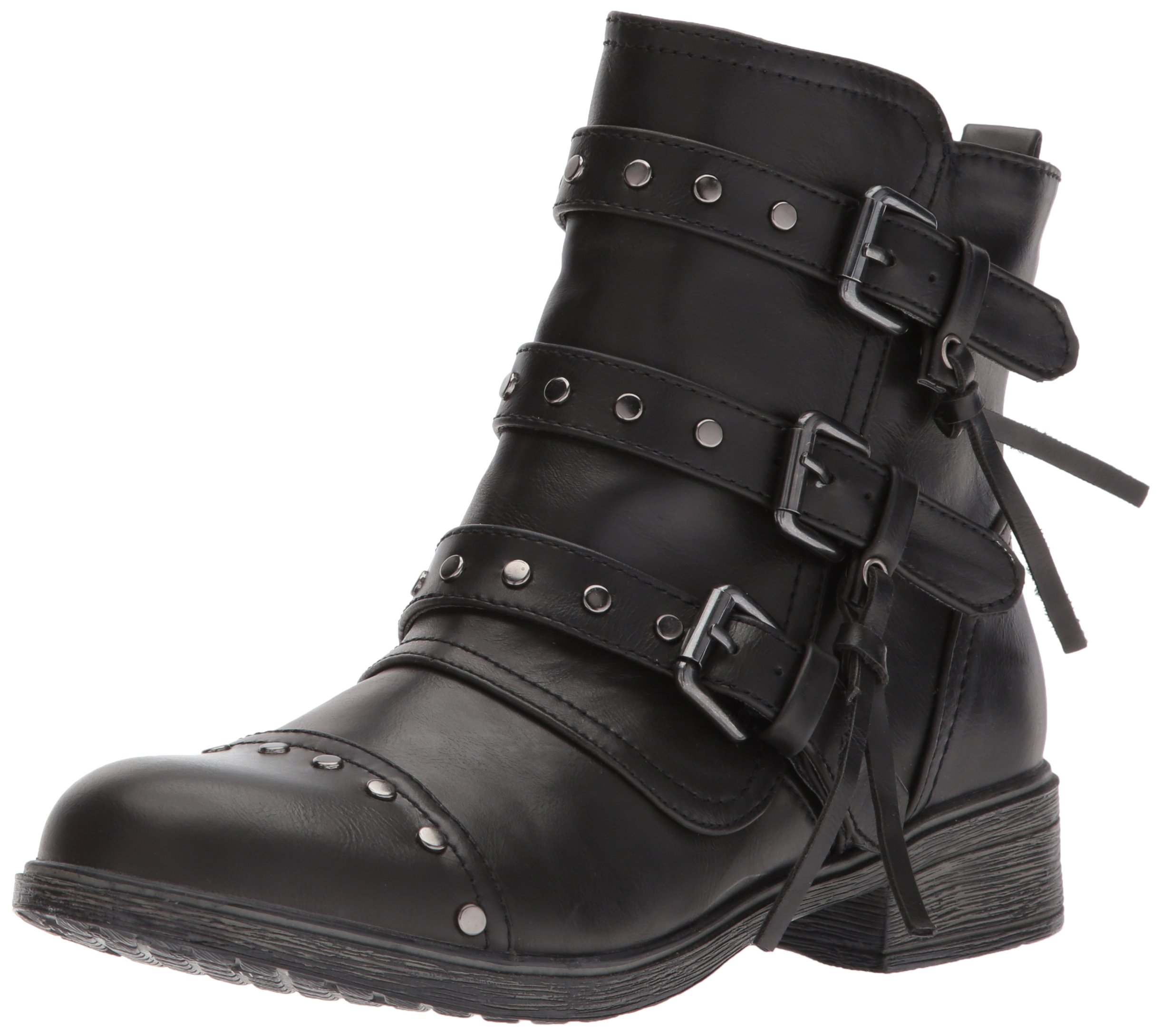 Report Women's Hartwell Ankle Bootie, Black, 8.5 M US