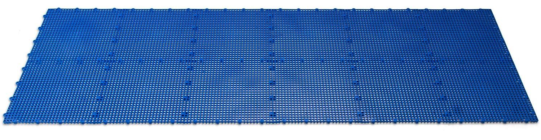 Royal Blue Comfort Tile Interlocking Modular Multi-Use Safety Floor Matting DuraGrid ST24ROYB 24 Pack Piece