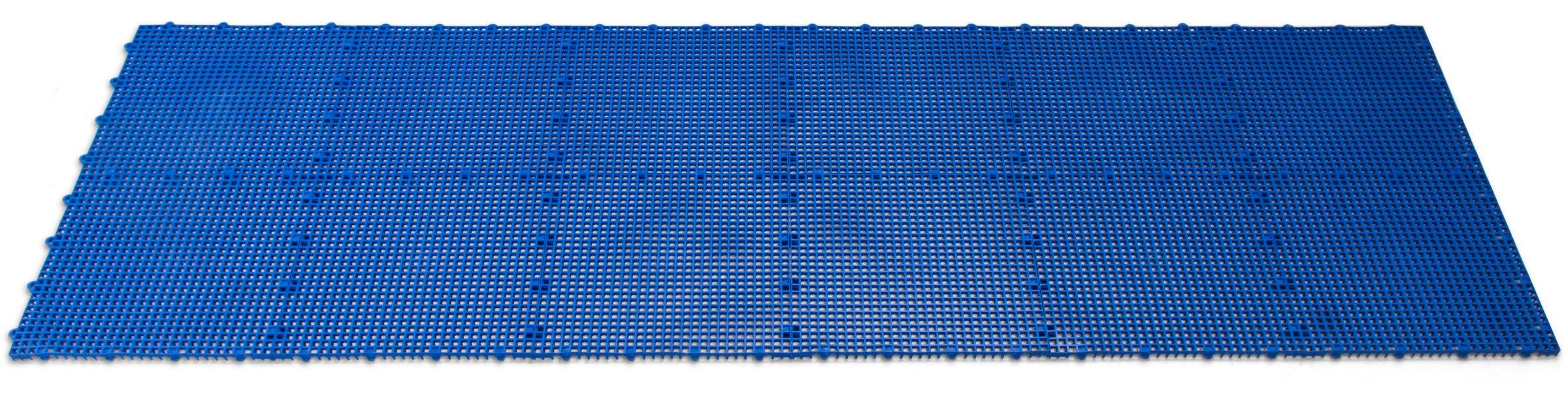 DuraGrid STBRIK Comfort Interlocking Modular Multi-Use Safety Floor Matting, Single Tile, Brick Red by DuraGrid® (Image #6)